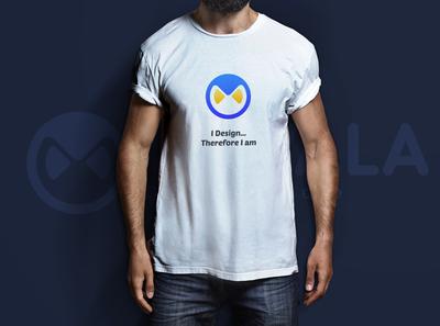 T Shirt Mockup for UIWala Design Studio