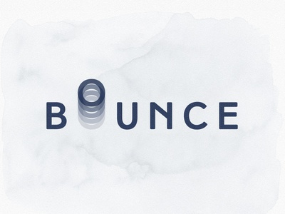 bounce typography expression