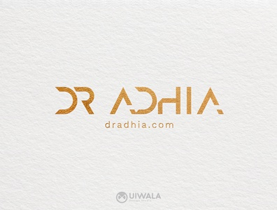 Dr Adhia Logo Desigb