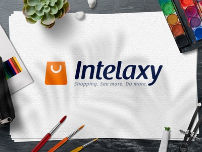 Logo Design : Intelaxy