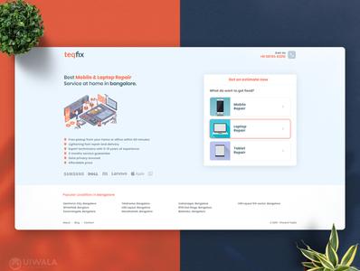 Web UI for Teqfix