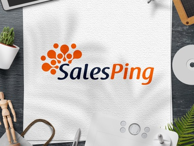 SalesPing logo Design