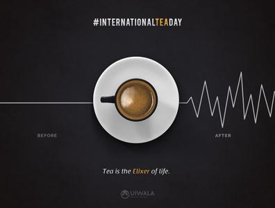 International Tea Day | Poster Design