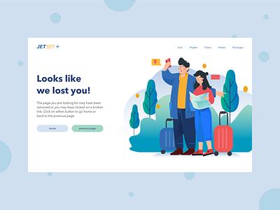 Daily UI 7: 404 Page website webdesign vector illustration web minimal ui design