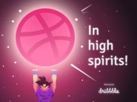 In High Spirits - Debut Shot
