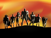 Justice League - The animated series poster