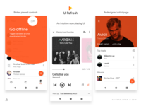 Google Play Music - UI refresh - Material 2.0 - {II}