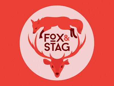 Fox & Stag baron stag fox logo