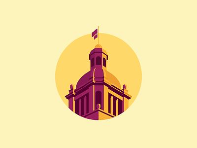 Florida Capitol Dome illustration capitol florida