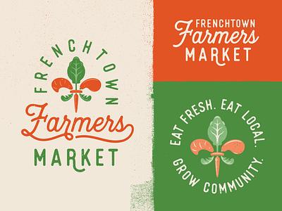 Frenchtown Farmers Market fleur tallahassee frenchtown farm logo