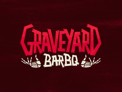 Graveyard BarBQ custom type hands bbq graveyard