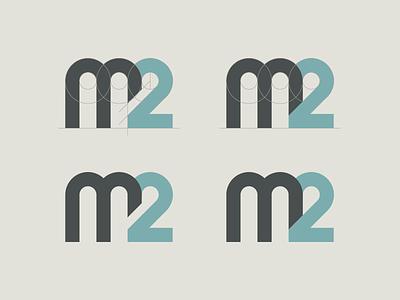 M2 Mark lettermark logo