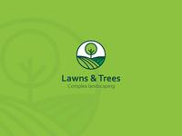 Lawns&Trees Company Logo