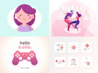 Top 4 Shots on Dribbble