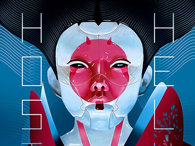 Ghost In The Shell digital arts illustration movie poster cinema movie poster ghost in the shell