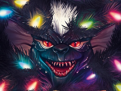 Gremlins digital painting illustration digital arts gremlins