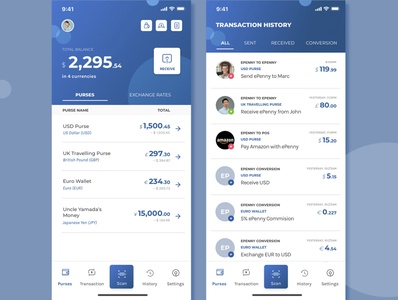 EPenn next coin a manager application redesign