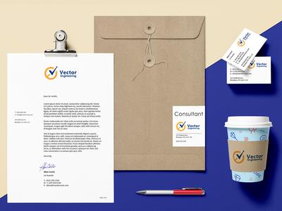 branding identity for Engineering Consultancy inc.