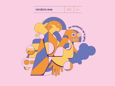 radom.exe poster vector design illustration