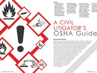 OSHA Guide - Feature done for ACC Magazine - May