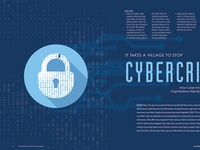 Cybercrimes - A Feature done for ACC Magazine - May