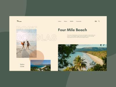 Travel Port Douglas - Landing Page