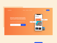 Event App - Landing Page