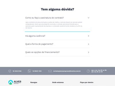 Alves Empreendimentos - perguntas frequentes faq frequently asked questions perguntas frequentes