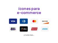 Ícones para e-commerce em SVG