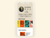 Daily UI #006 | User Profile | Goodreads