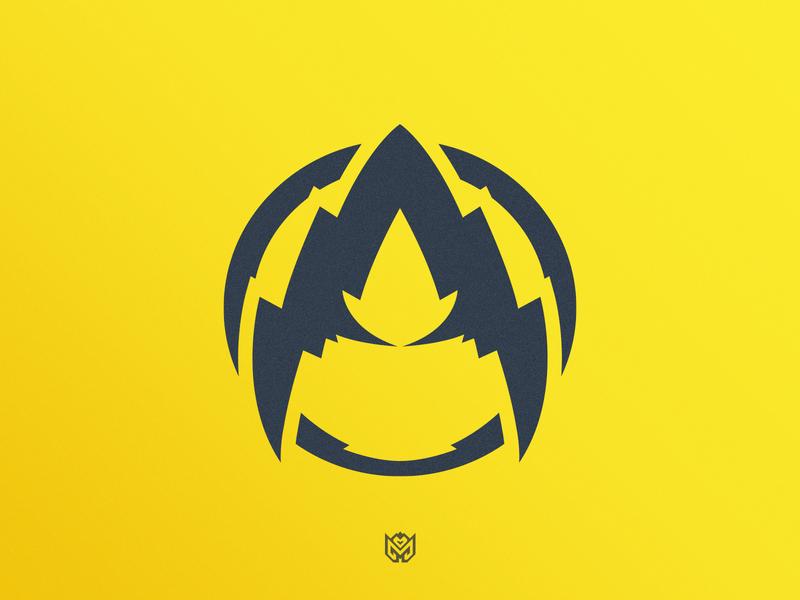AniextyLoL - Shredded Letter A grunge shredded shred icon typography lettermark letter a a twitch brand logotype logo identity esports branding gaming