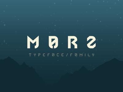 MARZ - FREE FONT