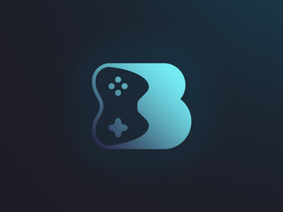 BBelleGames youtube twitch b logo youtuber streamer brand logotype logo identity branding gaming