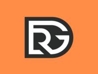 DRG design typography brand logotype esports logo identity branding gaming