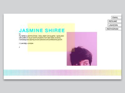 Jasmine Landing Page