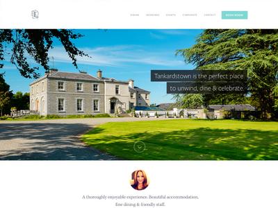 Tankardstown House Homepage