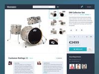 E-commerce Redesign