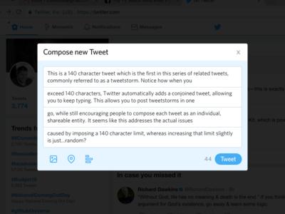Compose Tweet Redesign