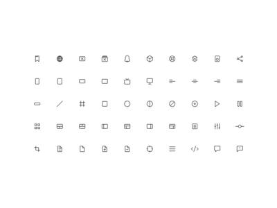 Modulz Icons