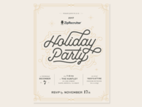 2017 Holiday Party Invite