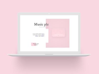 Home | Portfolio  uidesign uxdesign webdesign bloc music pastel portefolio