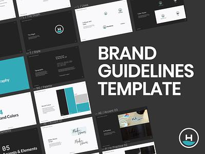 Brand Guidelines Template branding figma template brand