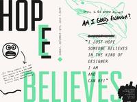 """""""I Just Hope..."""" [Journal Design Challenge 1/7]"""