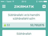 zikirmatik app