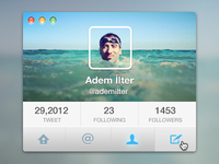 twitter for osx —freebie psd