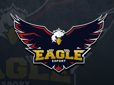 esport logo gaming eagle by ari wibowo dribbble. Black Bedroom Furniture Sets. Home Design Ideas