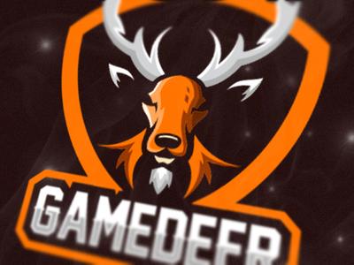 Deer Esport Logo Gaming