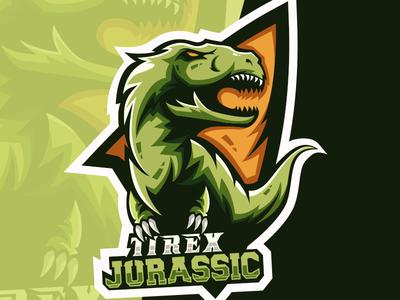 Tirex Esport Logo Gaming Team Dribbble