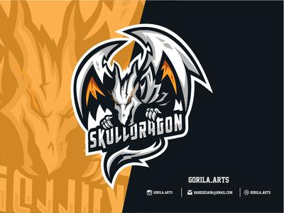 Dragon Esport Logo Gaming Teams