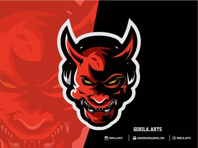 Samurai Esports Logo Gaming Team